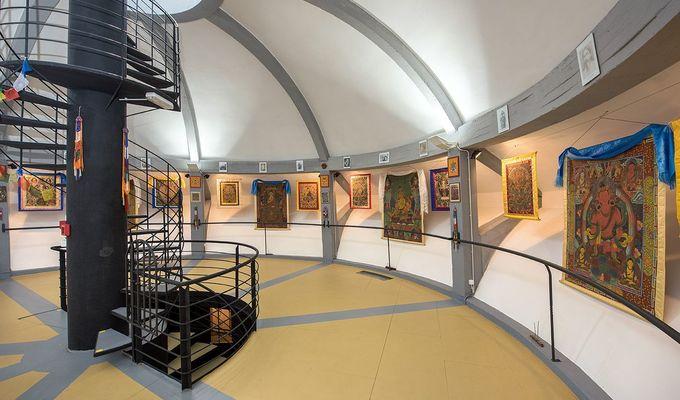 Národní muzeum vás zve do Galerie buddhistického umění v Třeboni na svou sbírku maleb